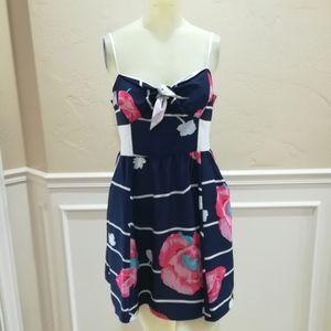 Yumi kim blue stripe dress